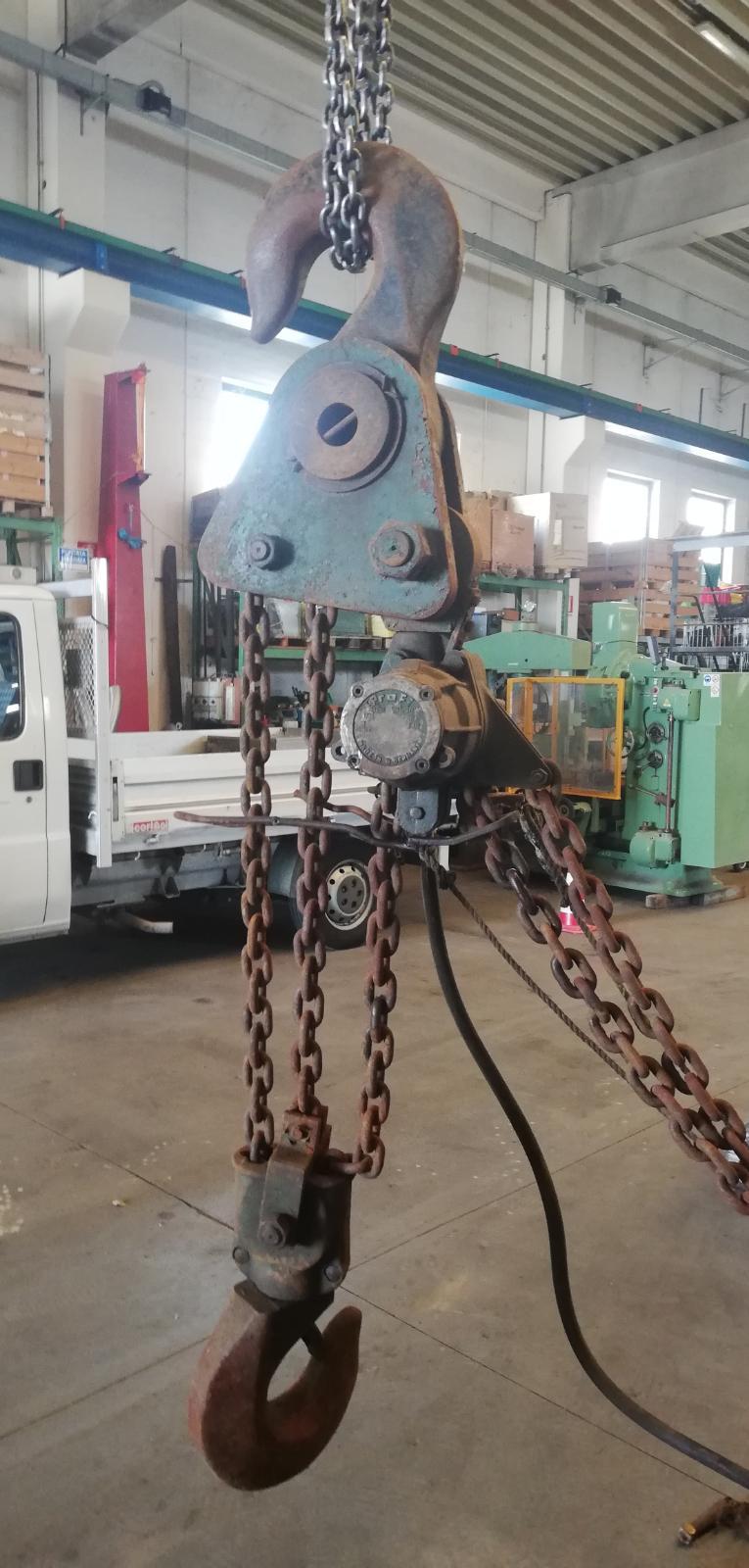 Tackle 15 ton lift