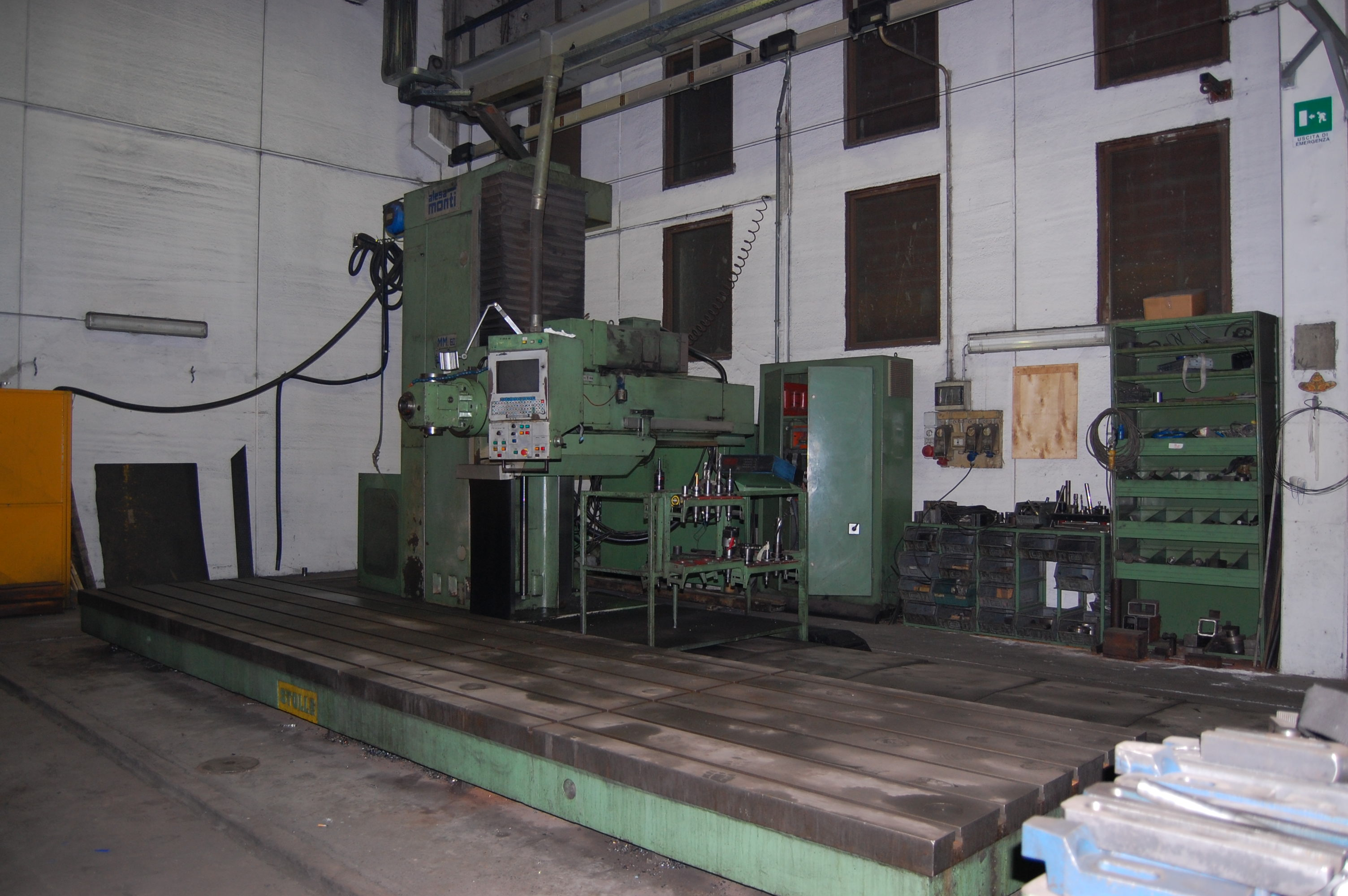 Boring machine ALESAMONTI MM60