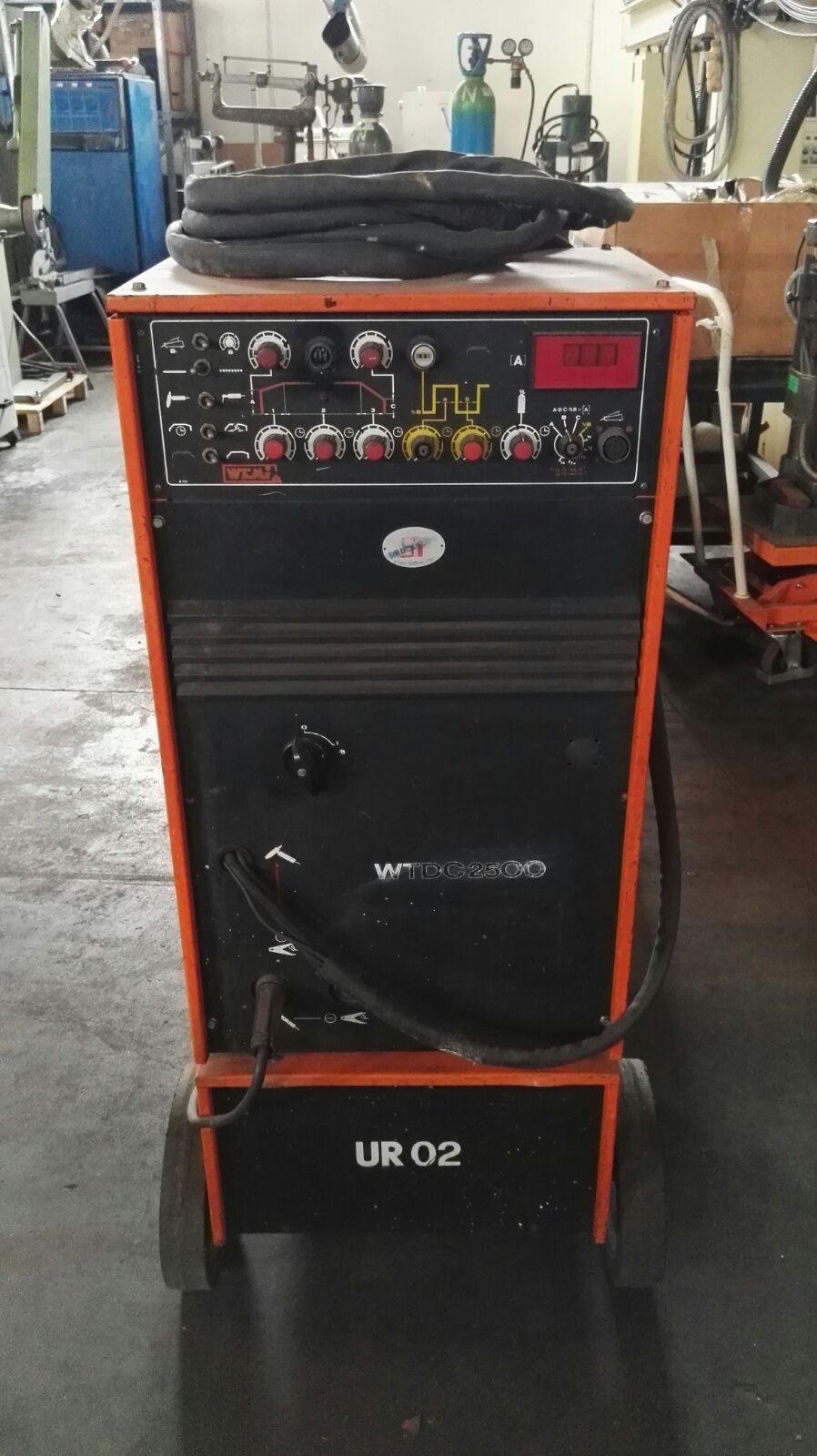 Welding machine tig WEMI