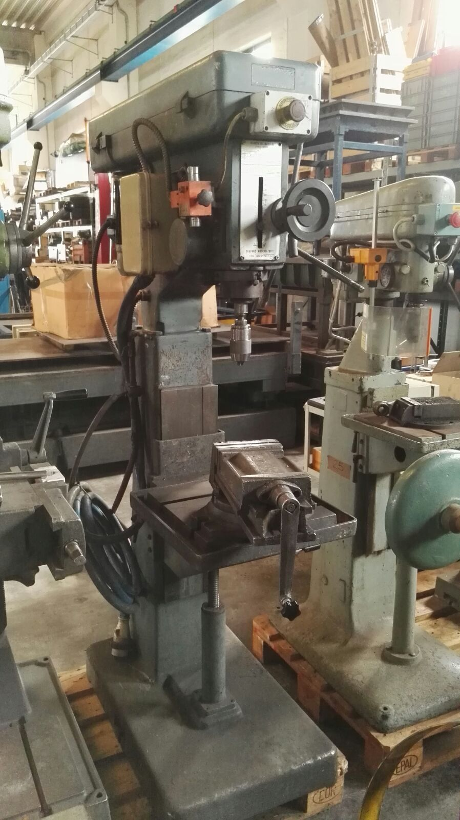 Drilling machine/mask GIASCO