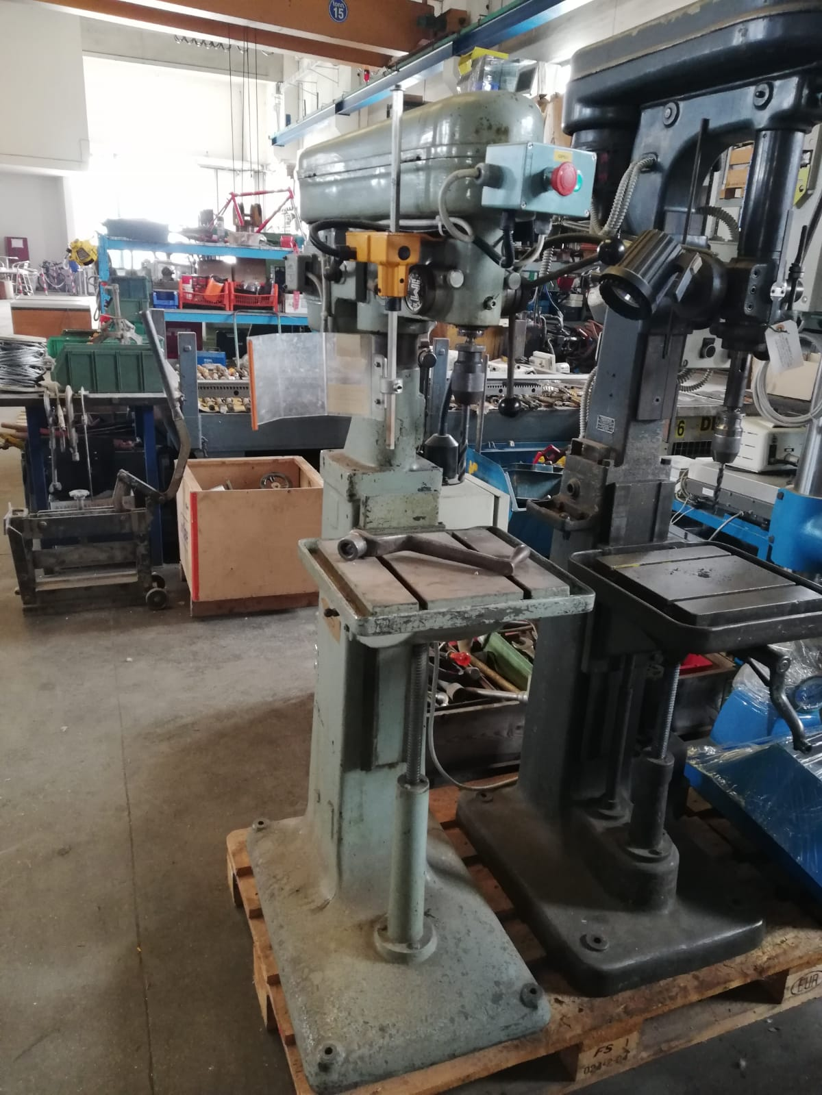 Drilling machine PELLIZZARI