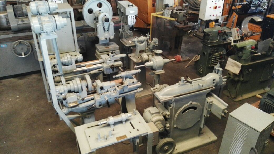 Vintage machine tools