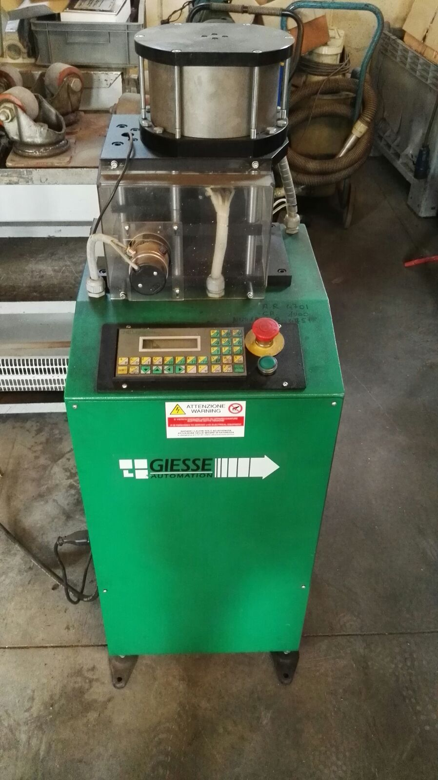 Shaper of profiles GIESSE