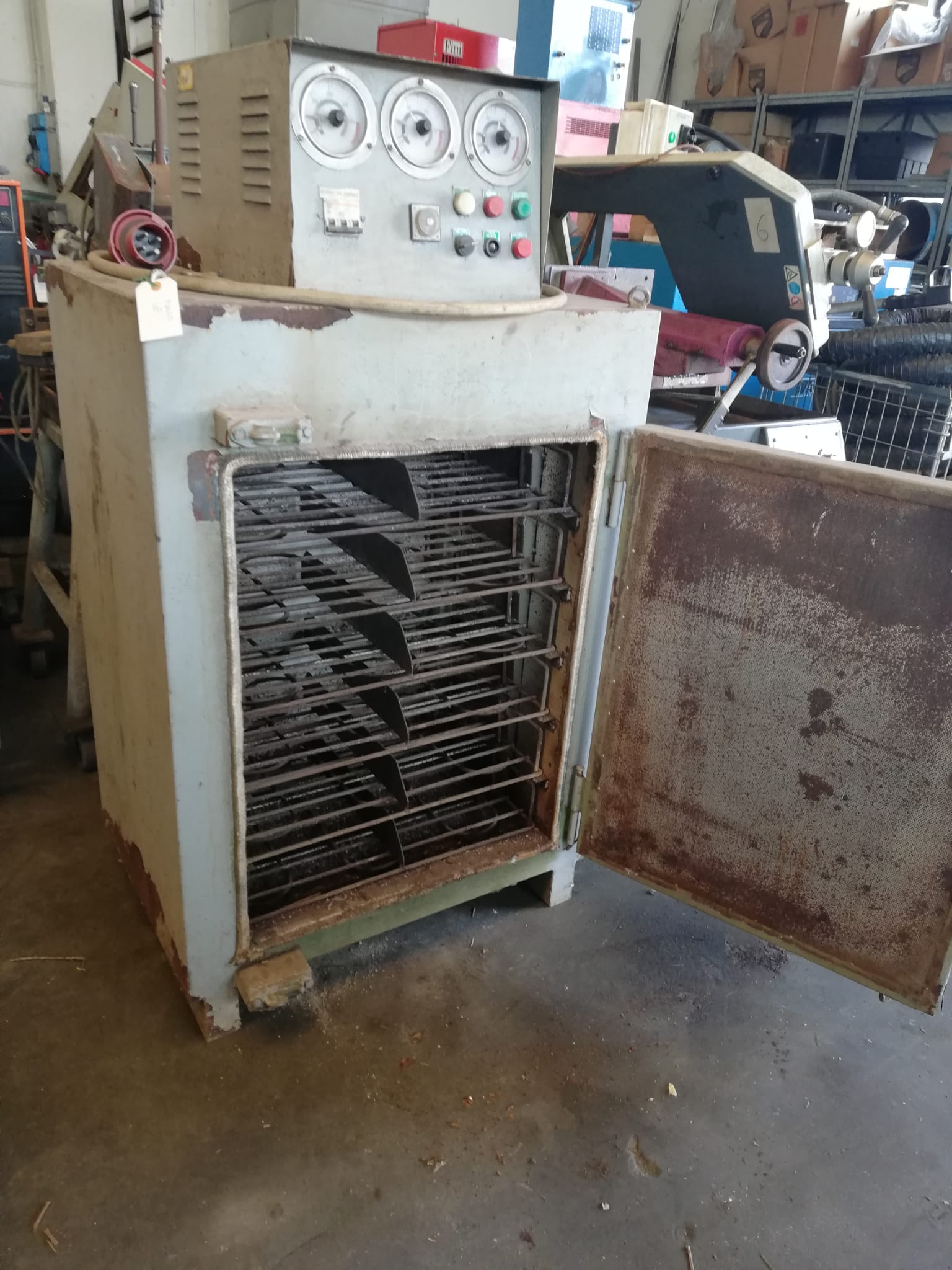 Electroden oven