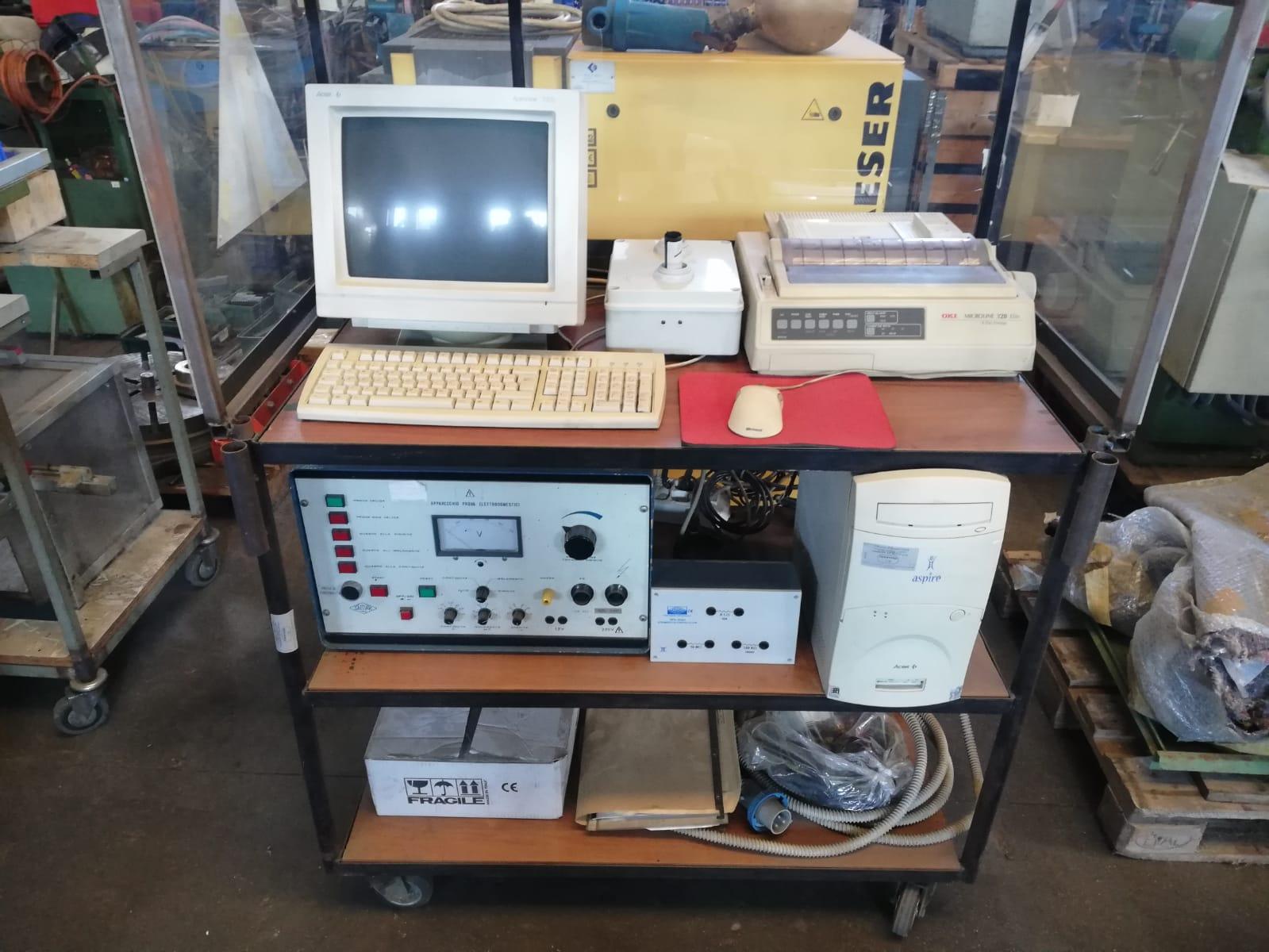 Appliance for testing household appliances + labeller