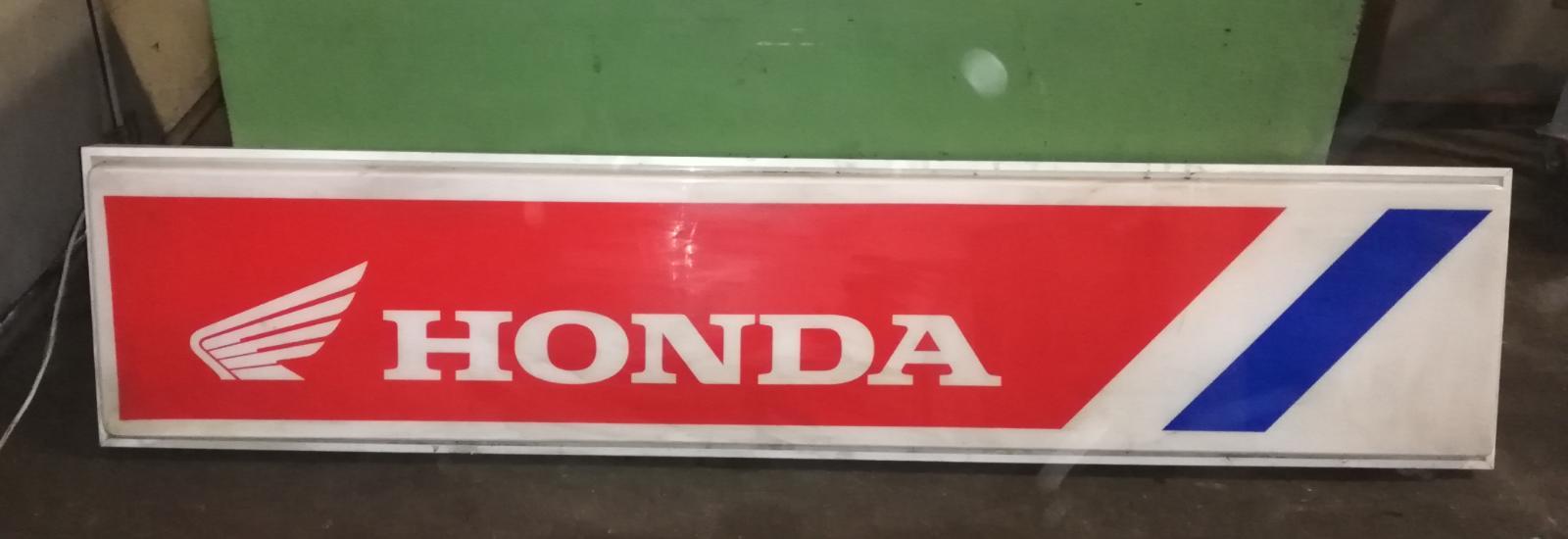 HONDA illuminated sign